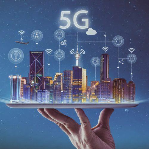 5g smart city iot wireless silver platter tablet service 100773116 large