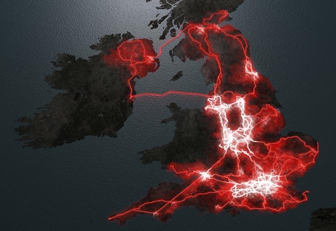 Virgin Media fibre optic broadband map